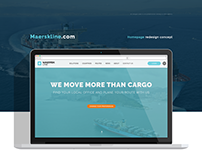 Maerks Line / Redesign Concept 2017.