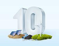 10 lat RWE w Polsce - key visual