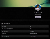 CakePHP World of Warcraft character stats sharing app