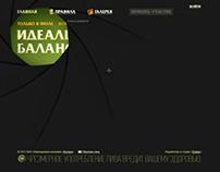 """Dva hmelya"" beer. promo site (photo contest)"