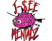 Logo for DJ and Music Producer J-$ee Mentalz