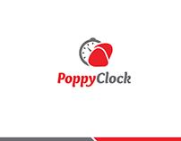 PoppyClock logo