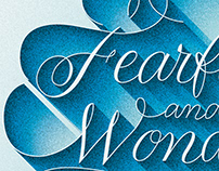Fearfully and Wonderfully Made – Postcard Design