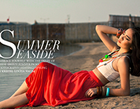 "Fashion Styling: ""Summer Seaside"" Editorial"