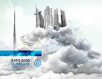 Expo2020 Bid Supporter, Poster Design