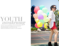 "Fashion Styling: ""Youth Awakening"" Advertorial"
