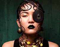 Accessories by Elena Serriyekh.