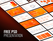 Free presentation psd template