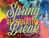 Alternative Spring Break Poster - UHV proposal