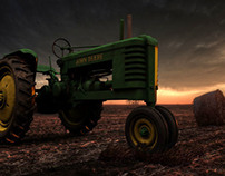 John Deere - Modeling and Rendering
