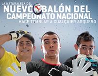 Nuevo Balón Campeonato Nacional ANFP