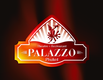 Palazzo theatre and restaurant identity