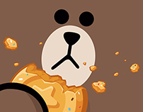 LINE POP2 game title movie artworks