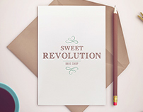 Sweet Revolution Bake Shop Logo Rebrand
