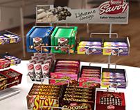 Exhibidor Multimarcas Nestle