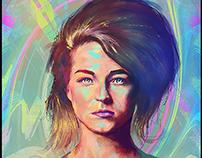 """Selah Sue"" Portrait Digital Painting"