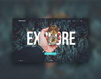 Explore Landing Page