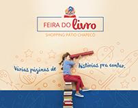 Campanha Feira do Livro 2016 - Shopping Pátio Chapecó