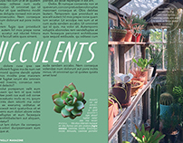 Green Philly Magazine, Two-Page Spread