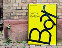 Plakatgestaltung Emma Metzler