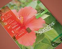 Surtigas. Diseño de Informe de Sostenibilidad 2015