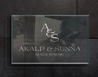 Akalp & Sunna Law Firm Branding