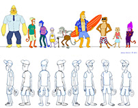 Character Design Compilation