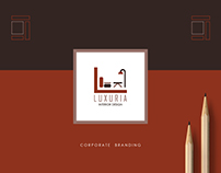 Luxuria Interior Design - Corporate Branding