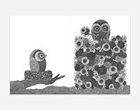 Migrate Magazine, Obsessed Birds Illustrations