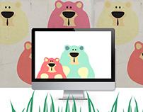 Children's Illustration-  Mr bear
