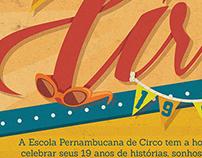 Escola Pernambucana de Circo 19 anos - Poster