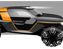 Ford Bronco Concept (Internship Project 2014)