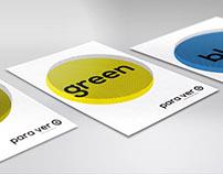 Graphic campaign: Para ver + (v 2.0)