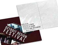 Detroit Design Festival Identity