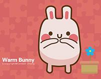 Warm Bunny | Animated Sticker
