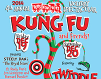 Kung Fu – Toys for Tots at Toad's Place