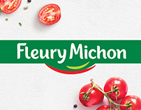 FLEURY MICHON, brand identity & packaging