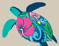 Sea Turtle Icon Series