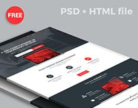 ALEGIAN Multi purpose Landing page - Free PSD + HTML