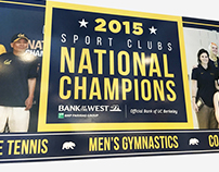 UC Berkeley | Bank of the West – Sport Clubs Mural