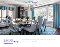 SewBeautifulWindows.com Website Design