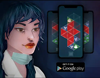 DownFall puzzle game