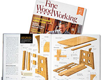 New Fine Woodworking Illustrations
