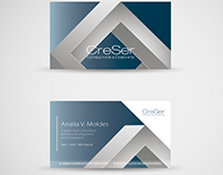 CreSer Coaching Design: Logo and Stationery