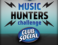 Propuesta Music Hunters para Club Social