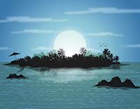 Vector Background Illustration.