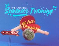 Summer Training Campaign - Social Media