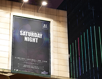 Club Night Promotion Poster