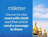 Citiletter Website & Mobile Application(2018 Q1)