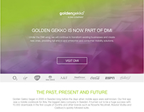 GoldenGekko Landing Page